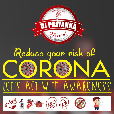 Reduce your risk of Corona