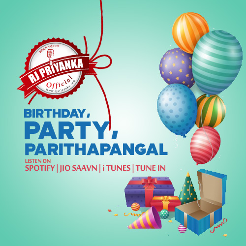 Birthday, party, Parithapangal